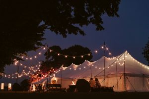 Marquee hire Hampshire wedding