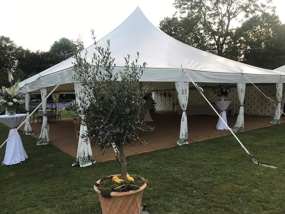 Grand Pole | Marquee Hire Somerset Dorset | Apex Marquees1