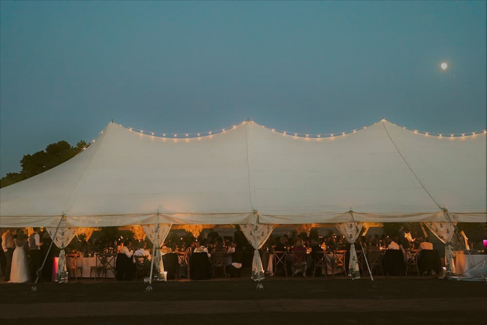 Grand Pole | Marquee Hire Somerset Dorset | Apex Marquees16