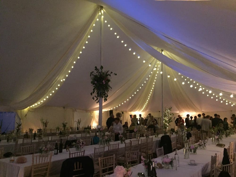 Grand Pole | Marquee Hire Somerset Dorset | Apex Marquees21