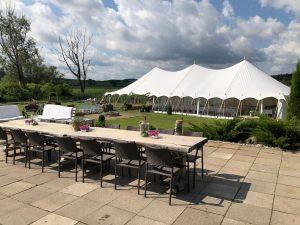 Marquee hire Hampshire wedding
